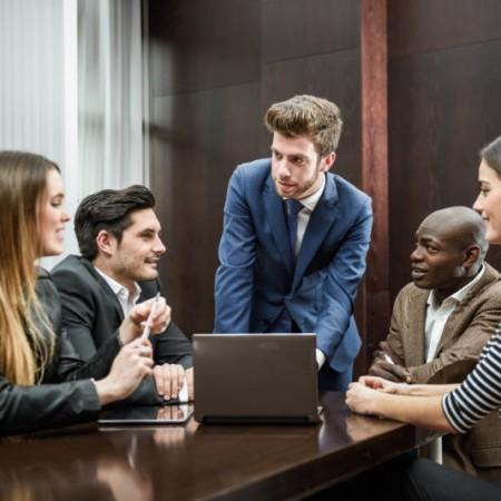 colaboração e aceitação nas empresas